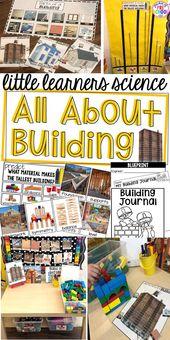 Alles über das Bauen – Wissenschaft für kleine Lernende (Vorschule, Vorschule & Kinder) – Slime, snails, and science