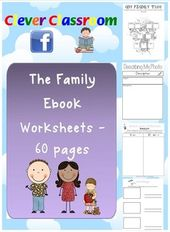 The Family Ebook – Teaching Resource – Themed Unit – PDF file60 page, printable … – Teaching