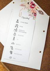 Die Planung des Tagesablaufs für die Hochzeit ist nicht so einfach, oder? Mach dir keine Sorgen – wir helfen Ihnen!   – Hochzeitskarten und Co.