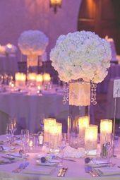 95 besten lila und silberne Hochzeitsideen Bilder auf Pinterest   – wedding tables silver