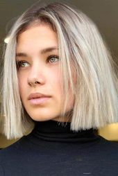 #Hairstyles #Blonde #Short #Round #Faces # For40 Blonde short hairstyle