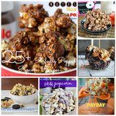 25+ Perfectly Popped Popcorn Recipes #popcorn #sna…