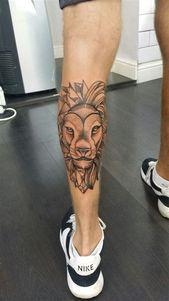 König der Löwen Kalb Tattoo #tattoideas #tatto