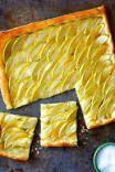 brauner Zucker Karamell Apfelkuchen von www.justataste + # Apfel #braun #Karamell #Zucker …   – Caramel Apples
