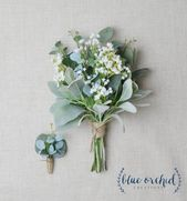 Bridesmaid Bouquet, Wedding Flowers, Silk Bridesmaid Bouquet, Bridesmaid Bouquets, Artificial Bouquet, Wedding Bouquet, Greenery Bouquet – Wedding 2020