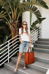 Wie trägt man Bermudashorts   – Fashion