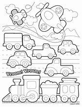Transportation Coloring Pages for toddlers Unique Land Transport Coloring Pages …