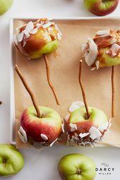 Mini-Karamell-Äpfel   – Halloween