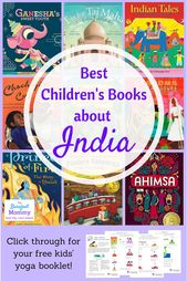Meilleurs livres pour enfants sur l'Inde  – Book recommendations