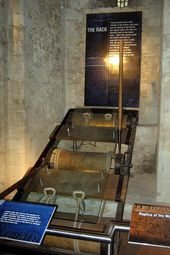 UK – London – The Tower of London: Henry III's Torture Show – The Rack
