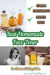 These Homemade Face Toner Recipes Help to Re-balance and Brighten Your Skin