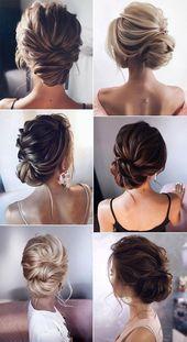 trending updo wedding hairstyles from tonyastylist – Brautfrisuren