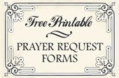 Prayer Request Cards  A Fierce Flourishing    Prayer