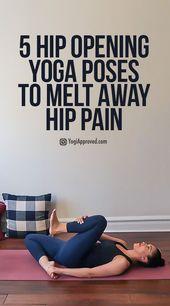 25 + › Enge Hüften? Übe diese 5 Hüftöffnungs-Yoga-Übungen, um Hüftschmerzen wegzuschmelzen – Jasmin Süß