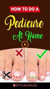 #How #how #home #Pediküre #a wie man zu Hause eine Pediküre macht#eine #hause