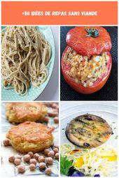Pâtes végétariennes à la carbonara © Mon conscience écologique régime végétarien +50 idées de …   – paleo-diet