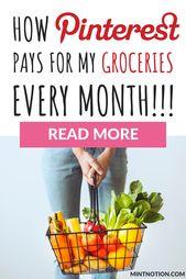 Wie man mit Pinterest Geld verdient. Hier sind 5 legitime Möglichkeiten, um auf einfache Weise zusätzliches Geld zu verdienen …   – Make money online