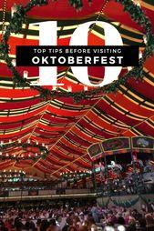 10 Tipps für den Besuch des Oktoberfestes in München. Müssen Sie wissen, bevo…