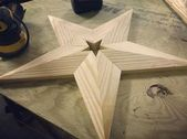 This tutorial will show you how to make a 22 to 24″ wooden star with a single 8 …