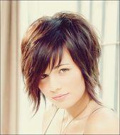 kurze Frisuren – 25 Wunderschöne und schmeichelhafte kurze Frisuren für runde Gesichter #frisur