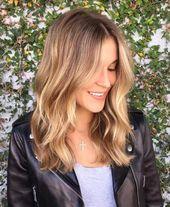 Ombre blond für braunes und blondes Haar – Färbetechniken im Trend – #blond #bl …   – Mittellange blonde haare