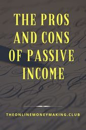 Passive income streams dont grow overnight. Even …