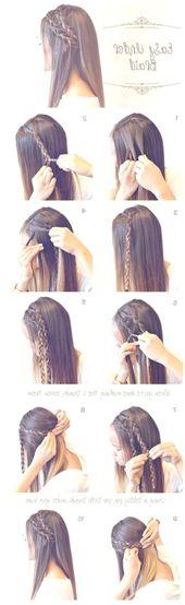 Einfache und einfache Frisuren – Frisuren – Frisur – Haar Modelle