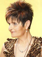 Fotos von kurzen Haarschnitten für ältere Frauen