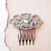 CZ Leaf Drop Wedding Earrings