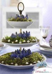 DIY Dekoideen für hübsche und farbenfrohe Oster Tischdeko – Ostern deko