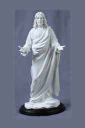 Welcoming Christ White Statue Jesus Christ Statue Statue Christ Is Risen