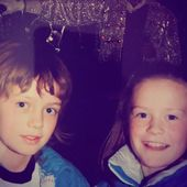 Me And My Sis On One Of Our First Trips To London A Wax Michael Jackson In The Background That Jacket Love U Sis In 2020