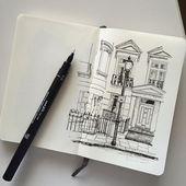 Architekturskizzen – #architecture #sketches #z …