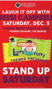 camp pareja Stand Up Saturday With Jessi Campbell # #camping steh samstag mit je …
