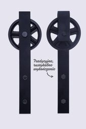 System Drzwi Przesuwnych Rustykalny Roller 220cm 7224224193 Oficjalne Archiwum Allegro