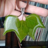 Resin with Leaves # Resin # DIY # Sheet # Dearlives #jewelrywire   – Choosing: jewelry