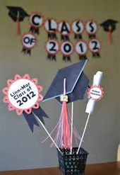 Unique Graduation Table Centerpieces - Bing Images