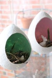 Osterbasteln mit Kindern: Osterei aus Klopapier – Lavendelblog
