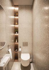 Küçük Banyolar İçin 20 Kaliteli ve Modern Tasarım – FarklıFarklı