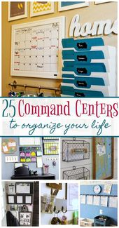 25 Command Centers to Organize Your Life These 25 …