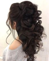 When I see all these half hairstyles it always hurts – wedding hairstyles