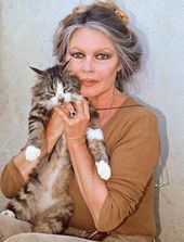 The brave Brigitte Bardot, obsessed with serving to animals of each type :…