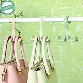 Online-Shop Haken Handtasche Tasche Geldbörse Halter Regal Aufhänger Rack Lage…