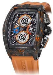 Cvstos Dani Pedrosa Collection Carbon Men's Watch, Challenge Black&Orange