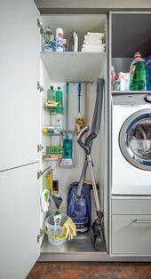 Set up utility room – Kitchen Center Dresden – Reinigung 2019