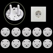 Details about 10X Power Kid Socket Cover Baby Child Protector Guard Mains Point Plug Bear New – Girl hair dos