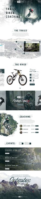 Modern and Trendy Web Designs Examples