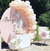 Schwan-Babyparty-Party-Ideen | Foto 1 von 17 | Fang meine Party – Zi de naștere… – Schwäne