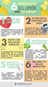 6 beneficios del limón para tu salud