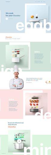 Diseños de interfaz de usuario inspiradores # 7   – Grafik – Web